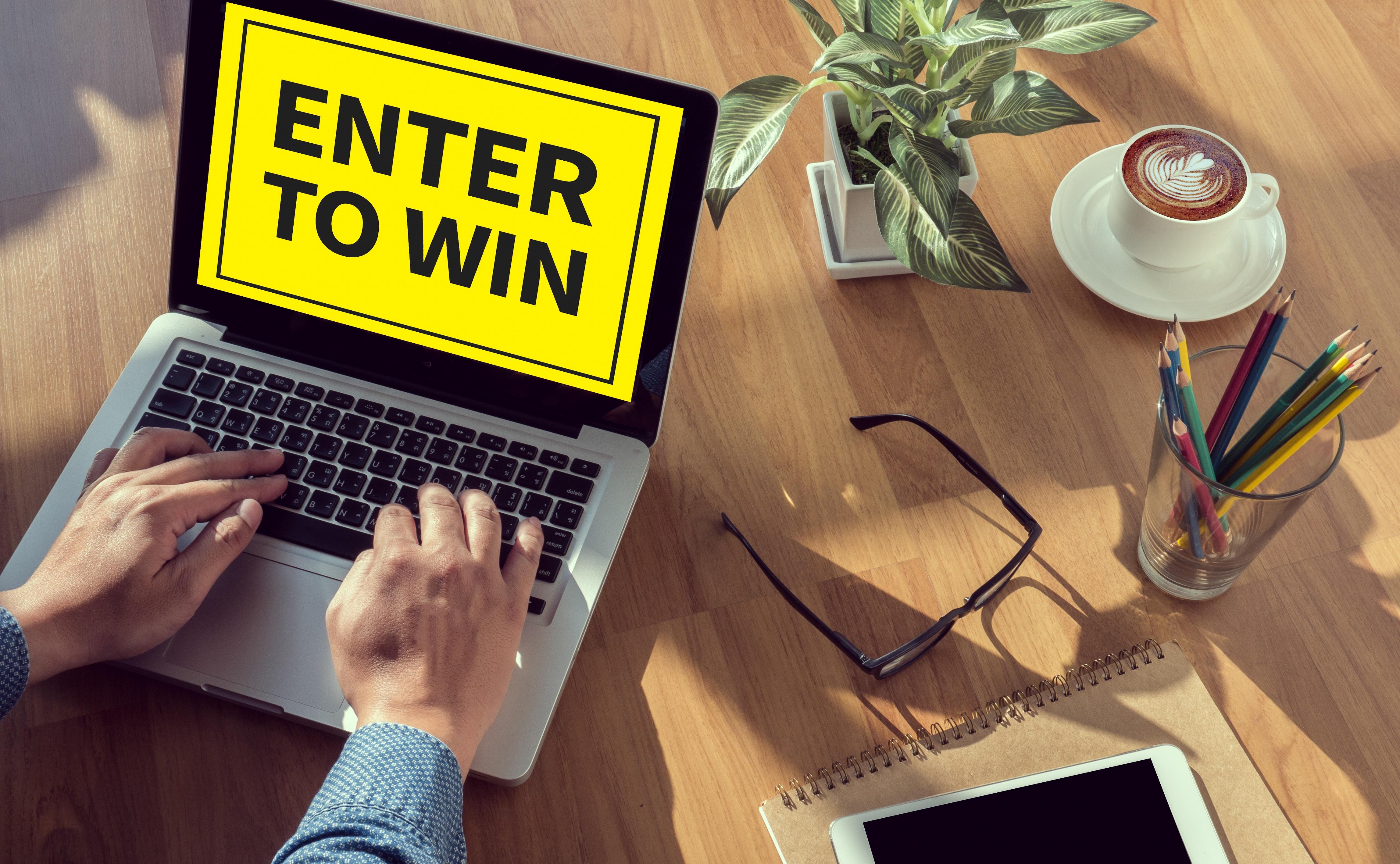 bigstock-Enter-To-Win-141845117