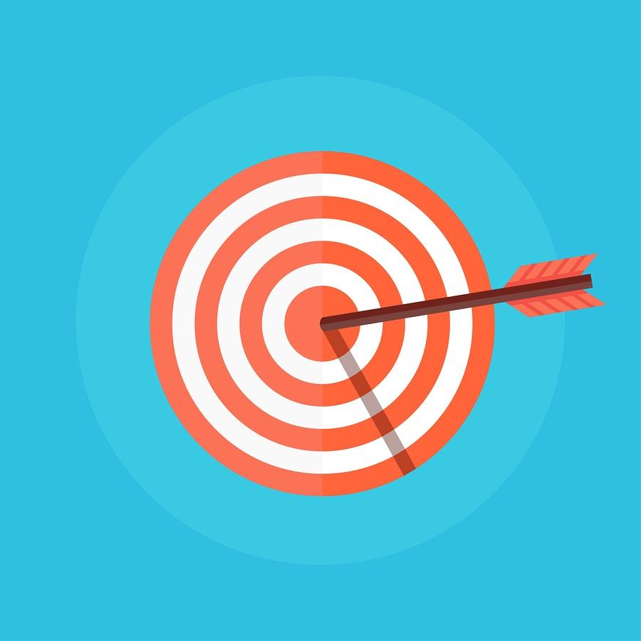 bigstock-Target-with-an-Arrow-115783832