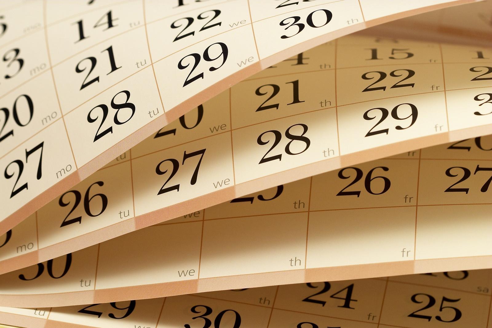 bigstock-Calendar-5486981