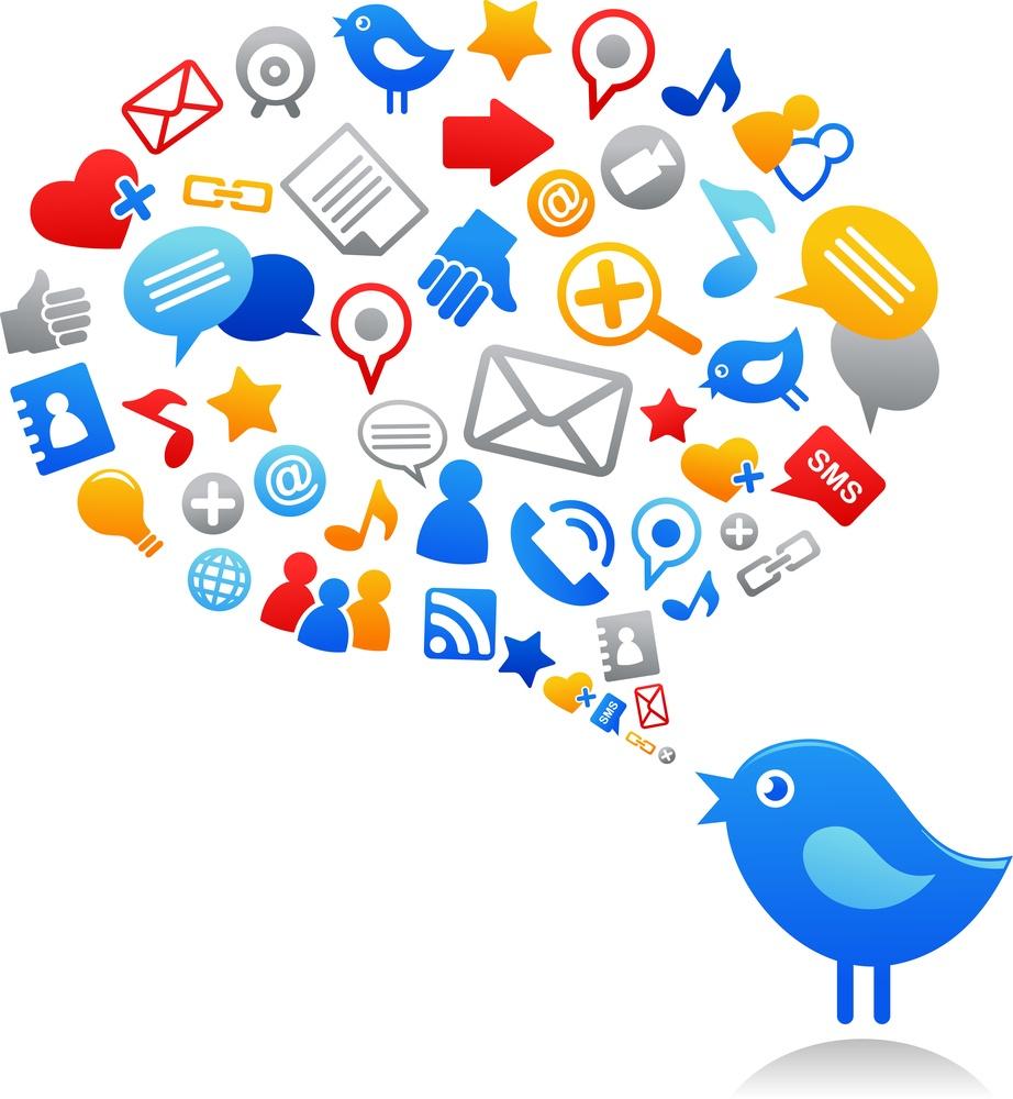 bigstock-Blue-bird-with-social-media-ic-20434325