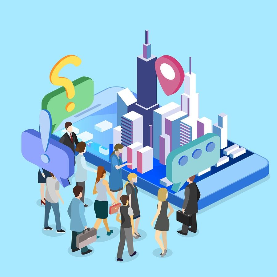 bigstock-Isometric-Flat-D-Exhibition-P-203943628